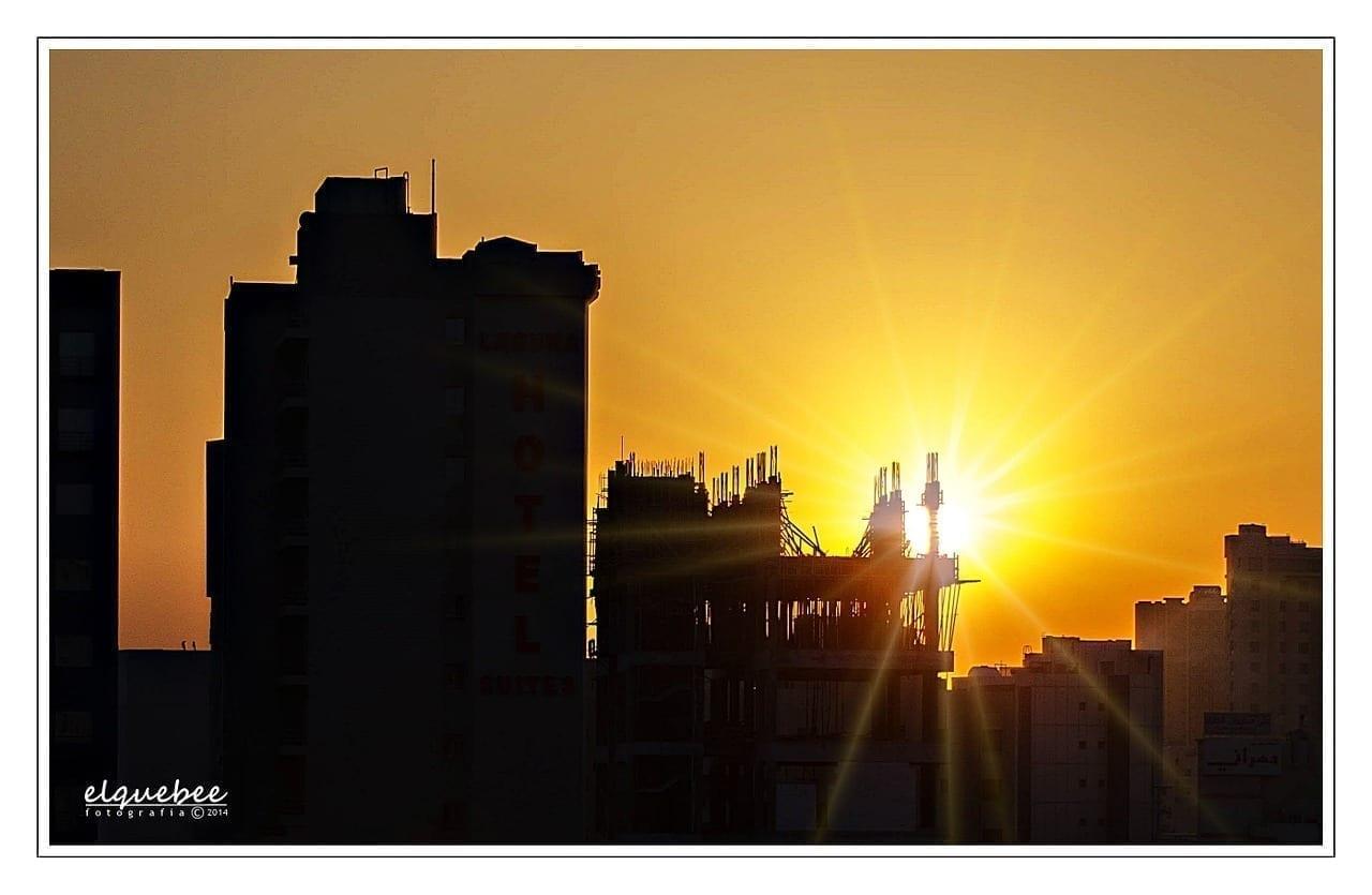 Salmiyah Kuwait Puesta De Sol