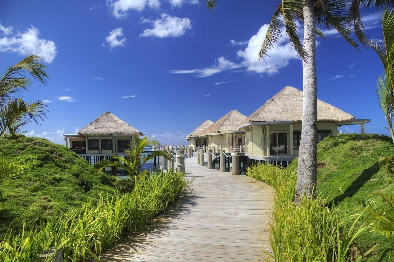 Samoa Cabaña De Playa Océano
