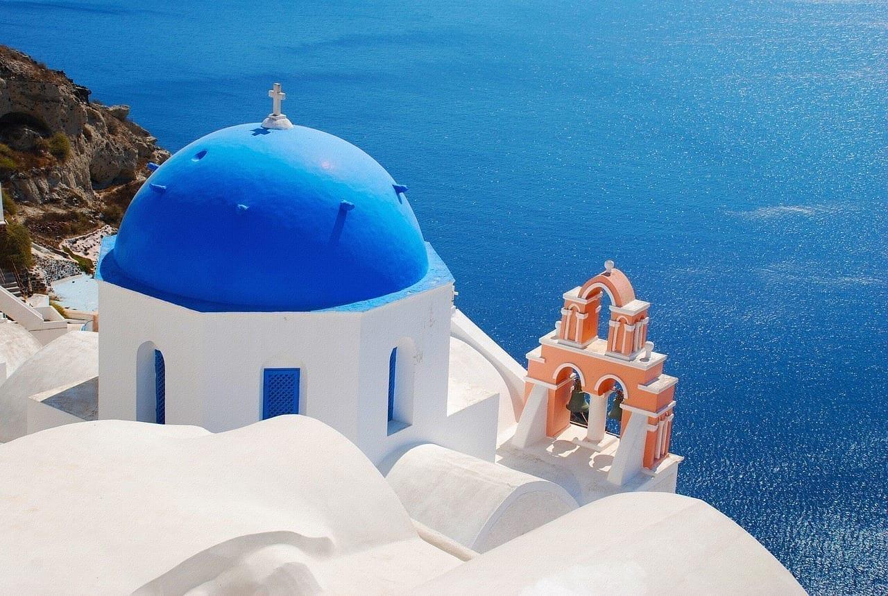 Santorini Grecia Iglesia