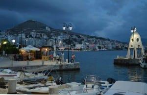 Sarandë Albania Puerto