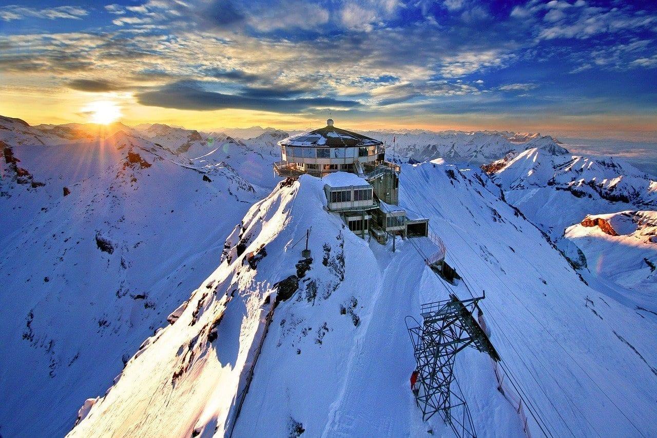 Schilthorn Estación De Montaña Suiza