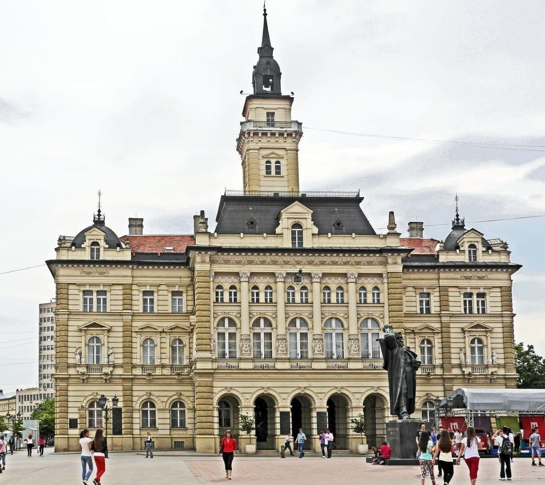 Serbia Novi Sad Ayuntamiento
