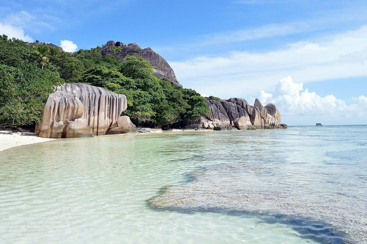 Seychelles Mar Playa