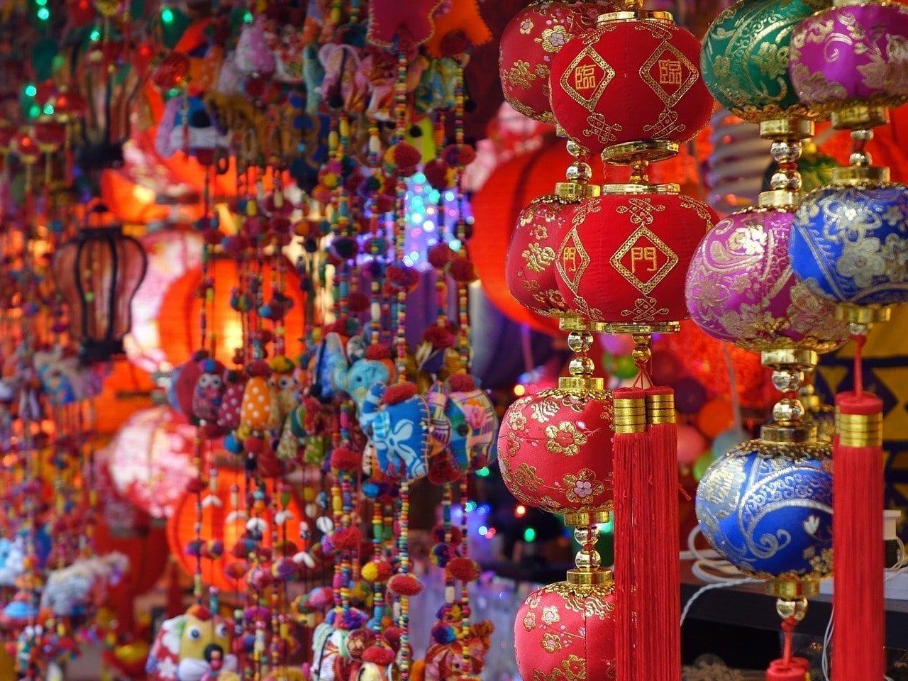 Singapur China Town Colorido