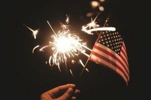 Sparkler Estados Unidos American