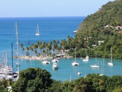 St Lucia Isla Del Caribe Santa Lucía