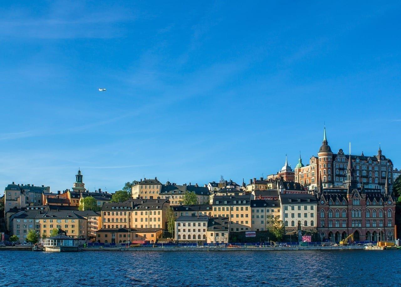 Suecia Estocolmo Muelle