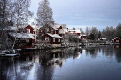 Suecia Sundborn Paisaje
