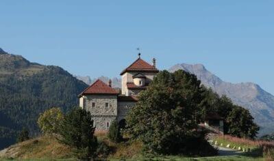 Suiza Silvaplana Arquitectura