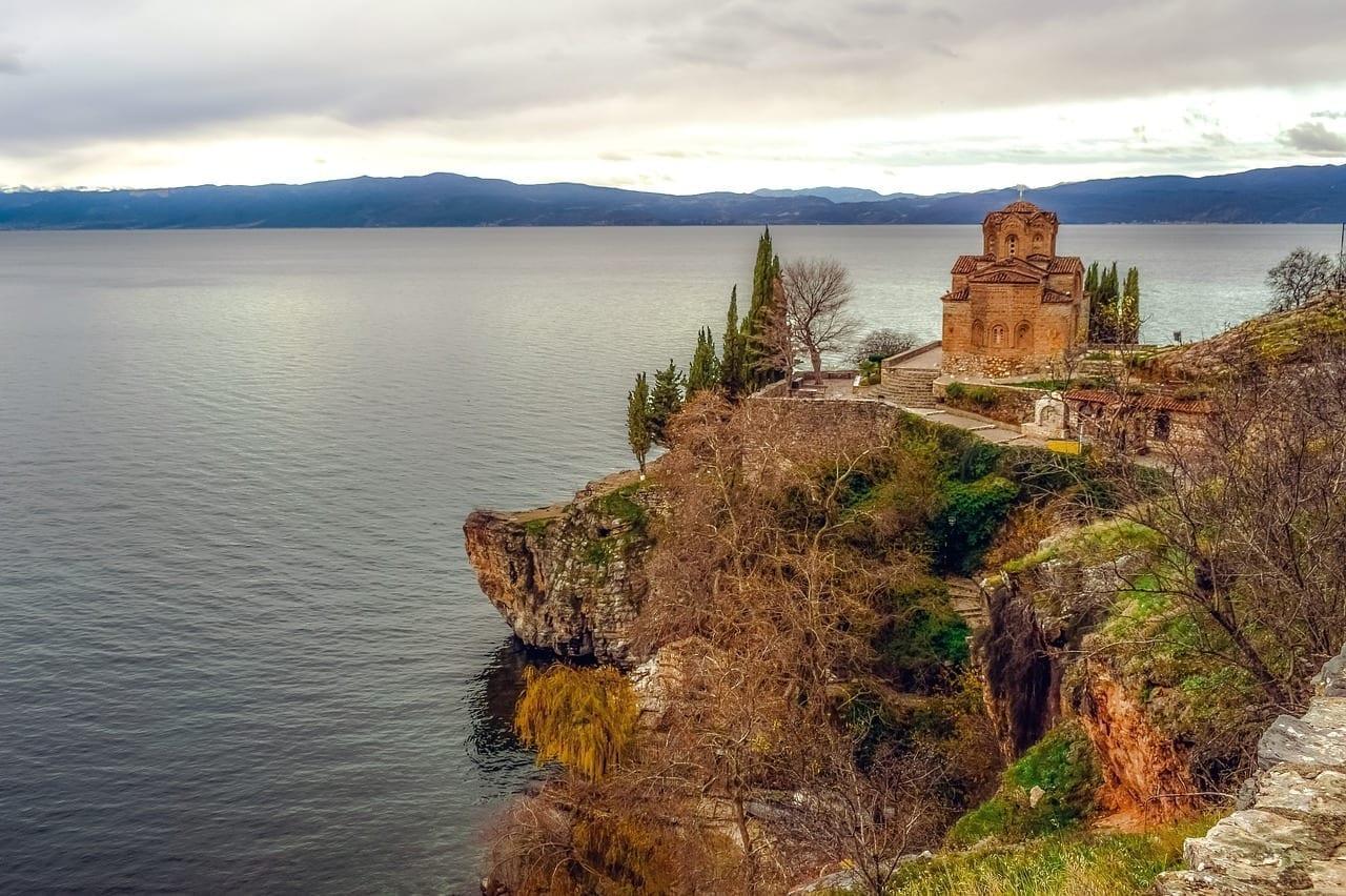Sveti Jovan Kaneo Ohrid El Norte De Macedonia