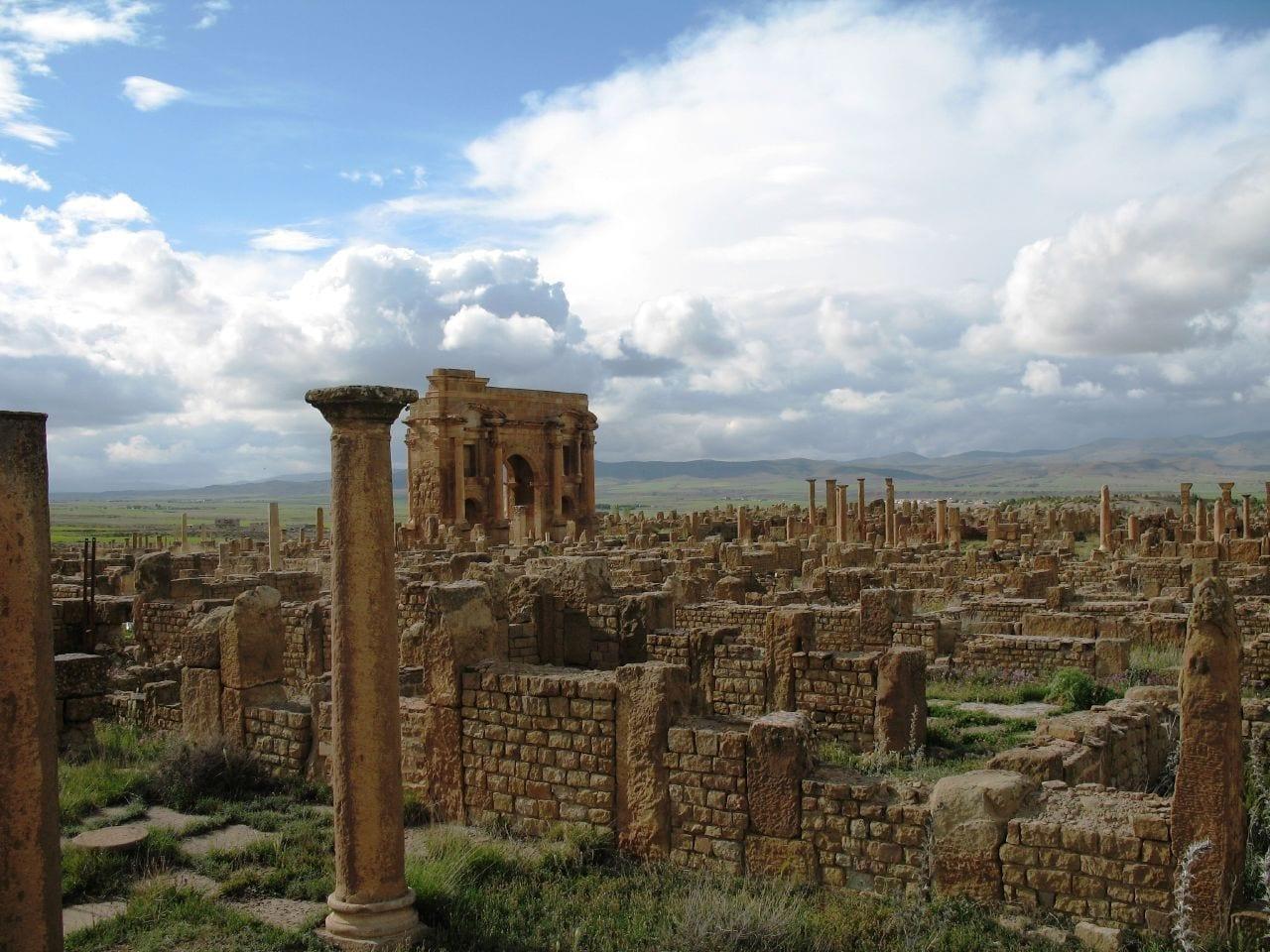 Timgad Argelia
