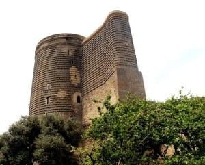 Torre de la Doncella Azerbaiyán