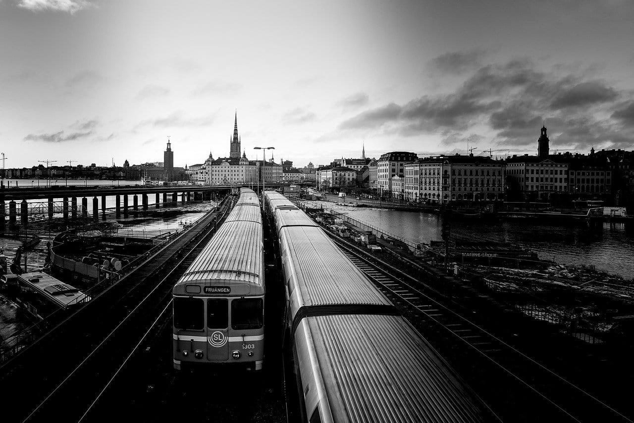 Trenes Suecia Stockholm