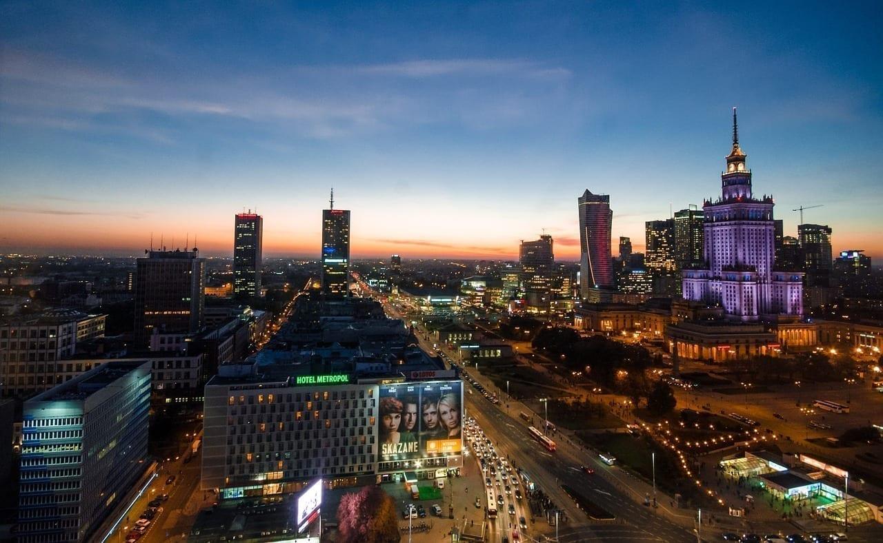 Varsovia Noche Polonia