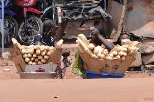 Vendedores de pan Burkina Faso