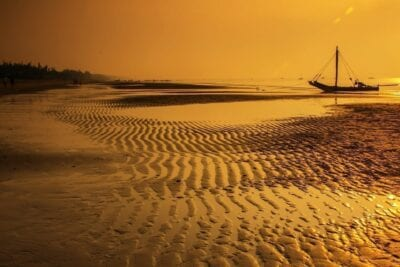 Vietnam Playa Salida Del Sol