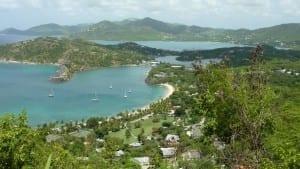 Vista de Antigua Antigua y Barbuda