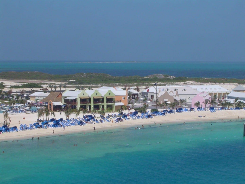 Vista de la playa en la isla de Gran Turco Islas Turks y Caicos