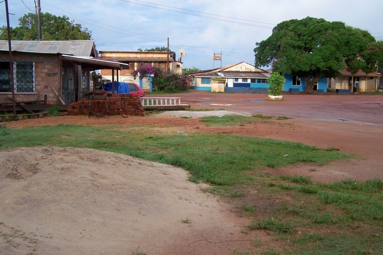 Vista de Lethem en el sur del país Guyana