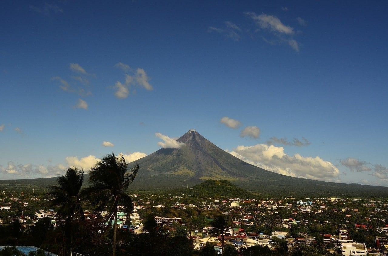 Volcán Mayon Filipinas