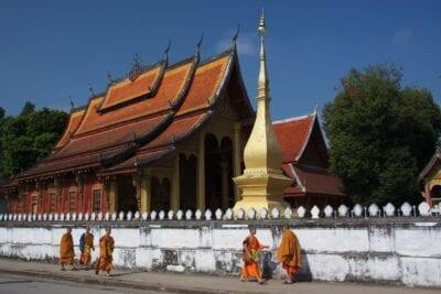Wat Sen, Luang Prabang República Democrática Popular Lao