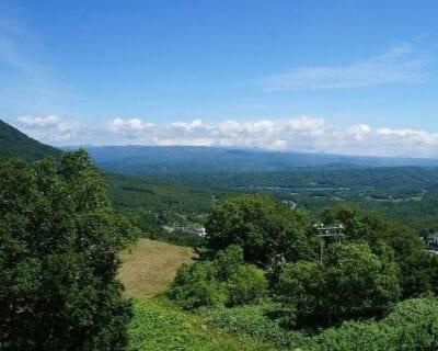 Abuta District Japón