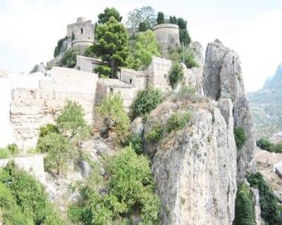 El castell de Guadalest España