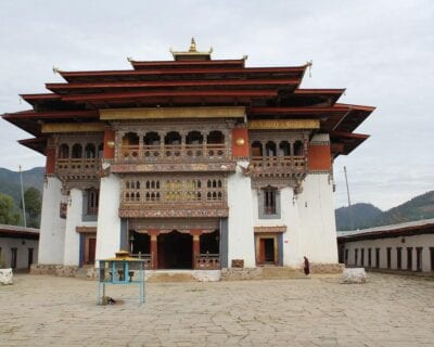 Monasterio Gangtey Bután