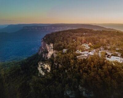 Montañas Azules Australia