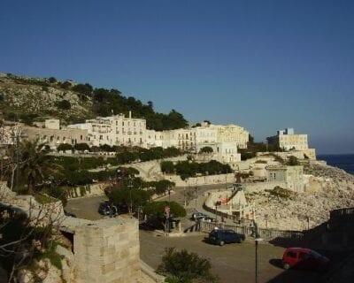 Santa Cesarea Terme Italia