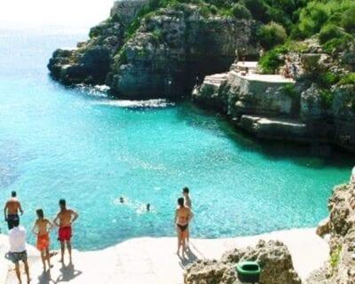 Cala Santandria, Menorca España
