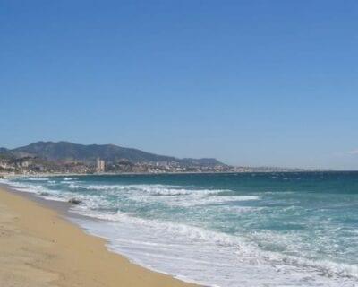 Costa Maresme España