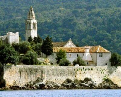 Lopud eiland Croacia