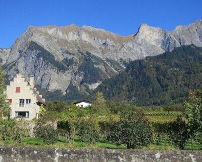 Maienfeld Suiza