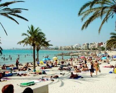 Playa de Palma, Mallorca España
