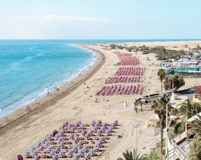 Playa del Inglés, Gran Canaria España