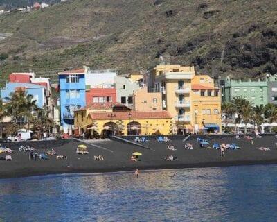 Puerto de Tazacorte, Isla de la Palma España