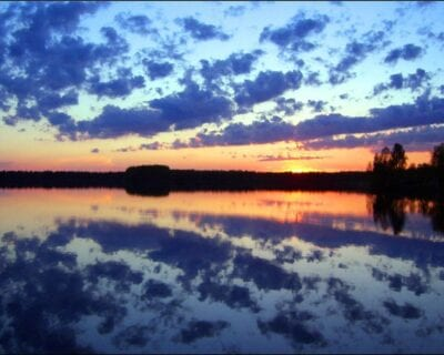 Región de los 1000 lagos Finlandia
