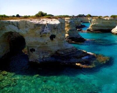 San Foca marina di Melendugno Italia