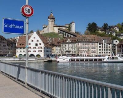 Schaffhausen (Escafusa) Suiza