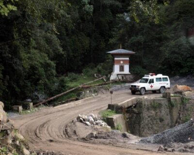 Wangdue Phodrang Bután