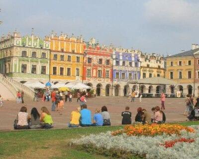 Zamosc Polonia