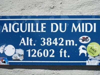 A esta altura hay vistas impresionantes, pero también peligros que no están presentes en el valle. Chamonix Francia