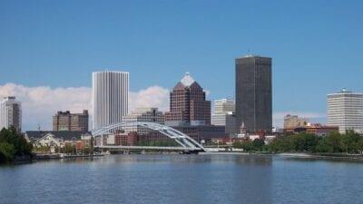 a la derecha Rochester NY Estados Unidos