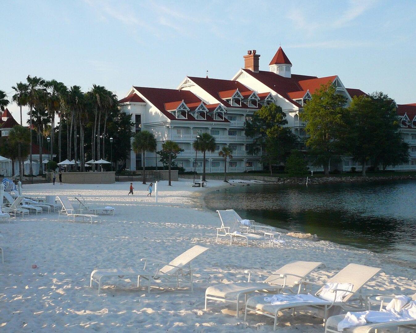 A veces sólo quieres relajarte en la playa Walt Disney World Resort FL Estados Unidos
