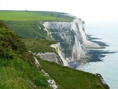 Acantilados Blancos Acantilados Dover Reino Unido