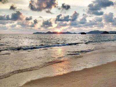 Acapulco Playa Atardecer México