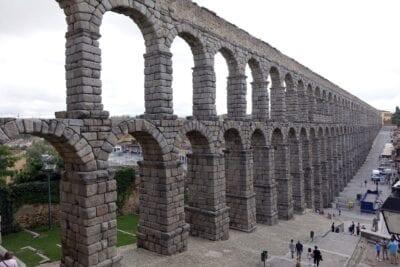 Acueducto De Segovia Acueducto Romano Monumento España