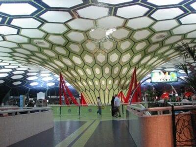 Aeropuerto Abu Dhabi Arquitectura Emiratos Árabes Unidos