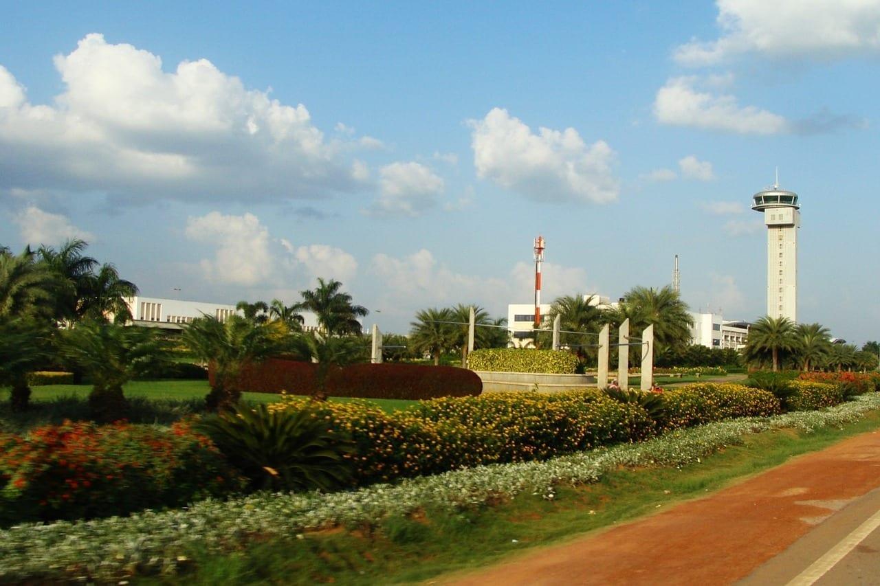 Aeropuerto Torre De Atc Bangalore India